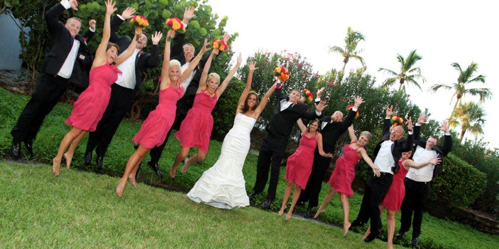 Florida Wedding Party