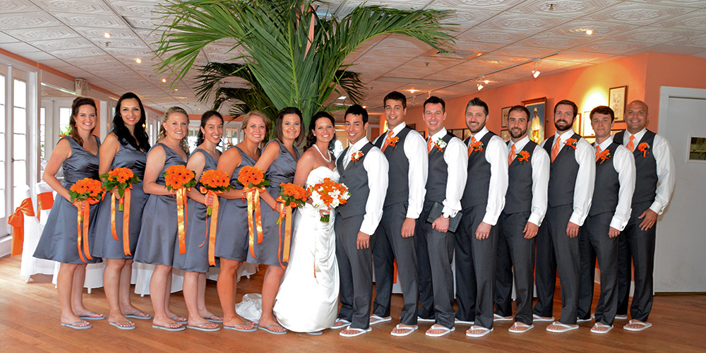 Bridal Party at Reception