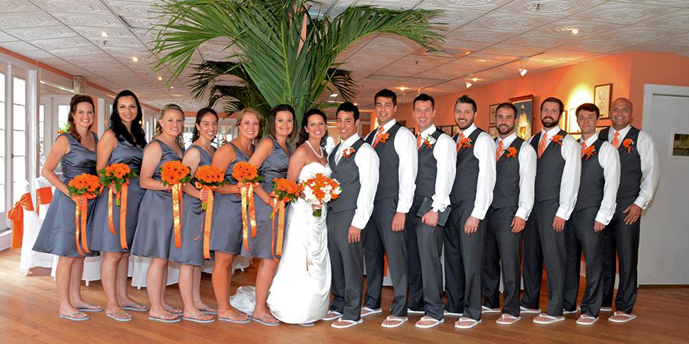 Bridal Party at Reception