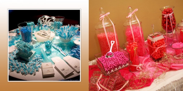 Festive, Fun Candy Station at your Wedding Reception — Florida ...