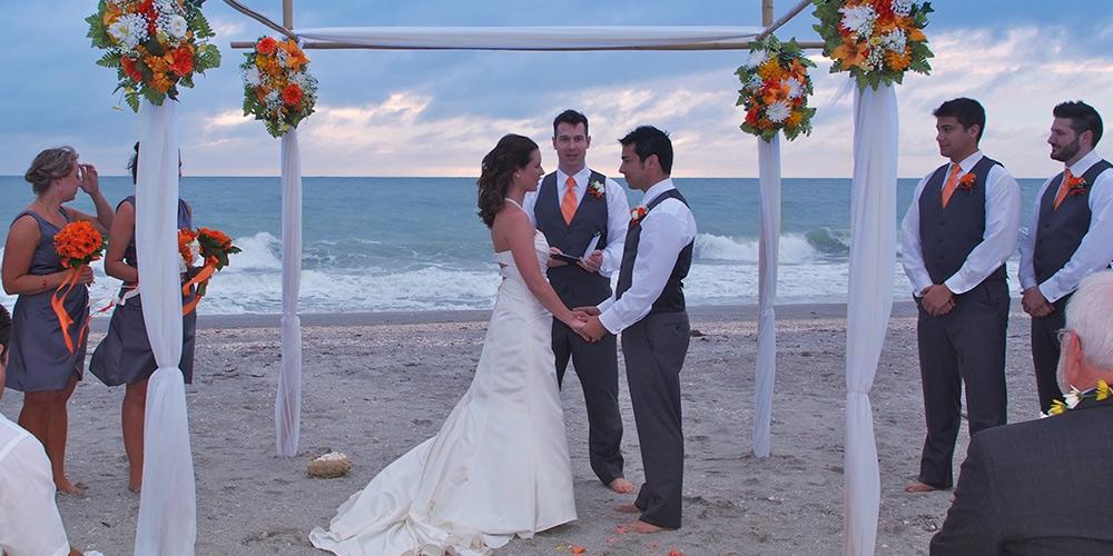 Florida Beach Wedding Ceremony