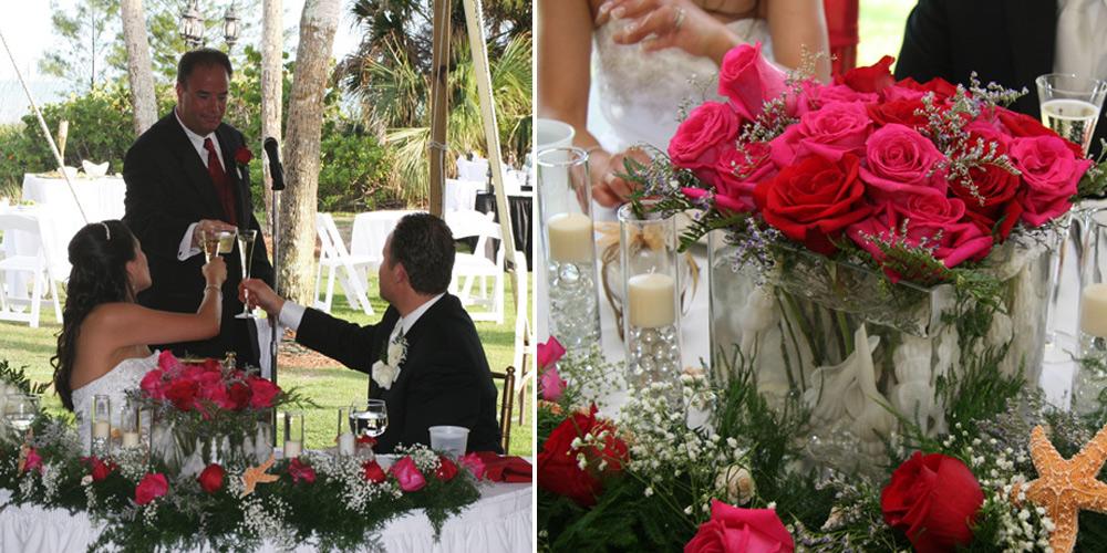 Wedding Reception and Toast